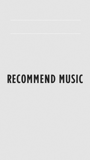 RECOMMEND MUSIC【BTS】 表紙