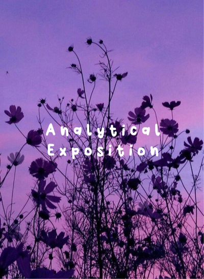 Analytical Exposition Sampul