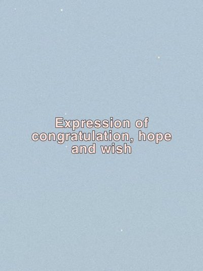 expression of congratulation, hope and wish kelas 9
