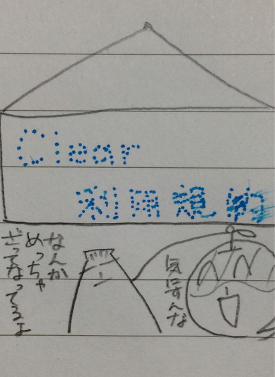 【Clear 利用規約】 表紙