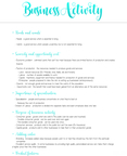 Business Activity Page 1