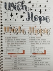 Wish and Hope  Page 1
