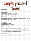 [ SIMPLE PRESENT TENSE ] English notes  Page 1