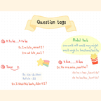 Question tags✏️ หน้า 1