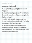 Tutorial Ngambis Page 1