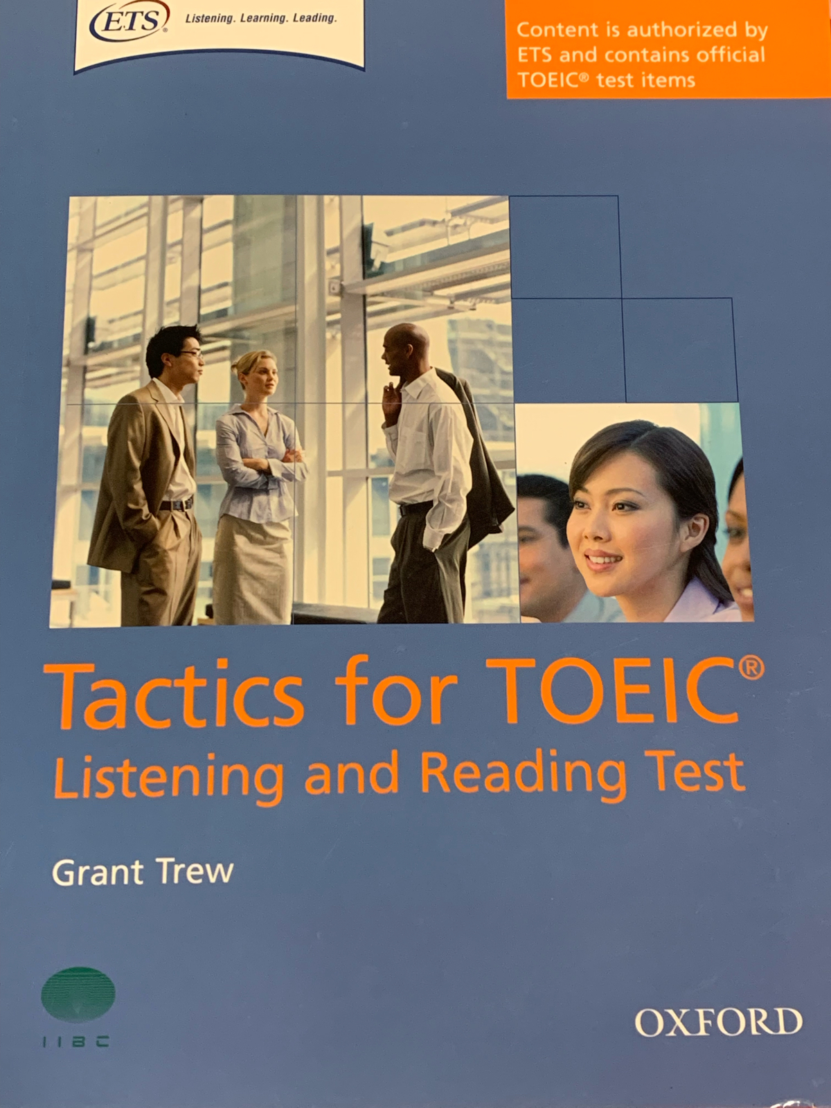 Tactics for TOIEC, listening and reading test... - 1